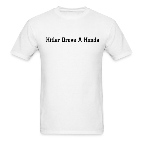 hitler - Men's T-Shirt