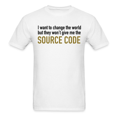 Coders - Change the world - Men's T-Shirt