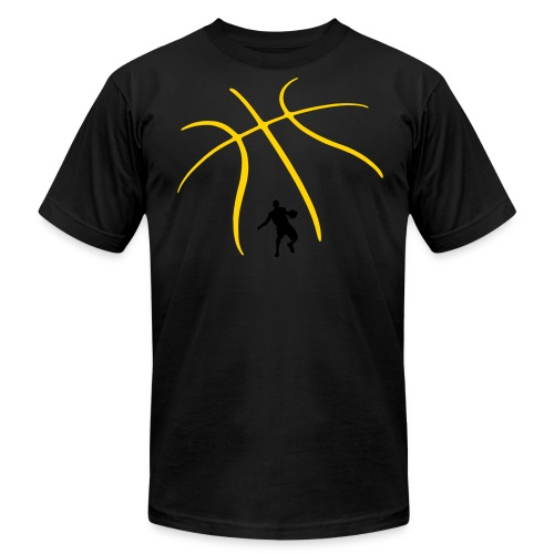 Basketbqll - Men's Fine Jersey T-Shirt