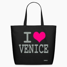 Black i love venice by wam Bags