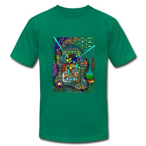 Space Age - Men's Fine Jersey T-Shirt