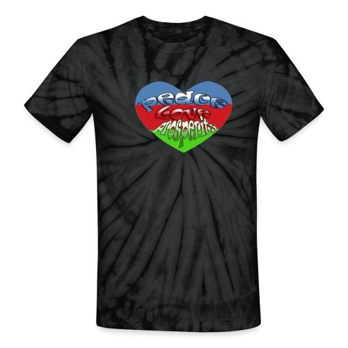 Haiti t-shirt - Unisex Tie Dye T-Shirt