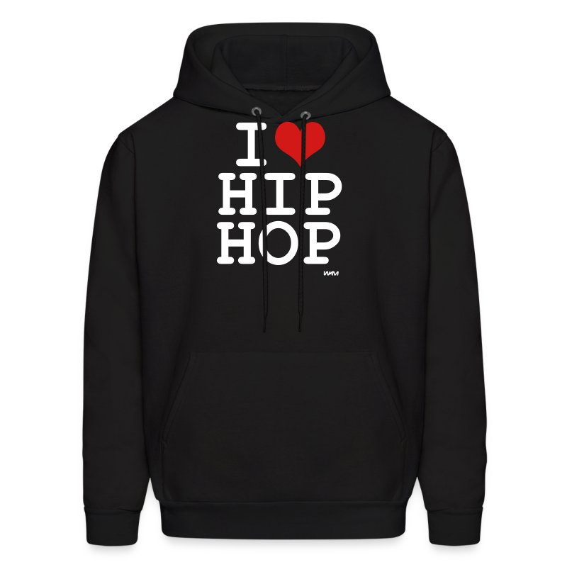 i love hip hop by wam hoodie spreadshirt. Black Bedroom Furniture Sets. Home Design Ideas
