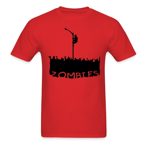 Zombie Attack - T - Men's T-Shirt