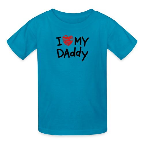 Little Girls'' 'I Luv My Daddy' T - Kids' T-Shirt
