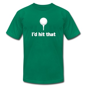 I'd Hit That American Apparel Tee - Men's T-Shirt by American Apparel