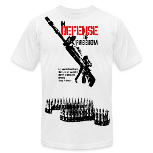 In Defense of Freedom - Men's  Jersey T-Shirt