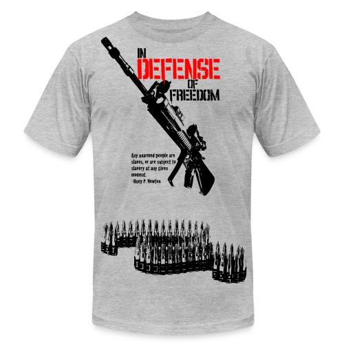 In Defense of Freedom - Men's Fine Jersey T-Shirt