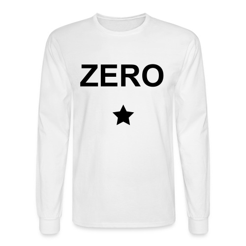 ZERO Men's Shirt - Men's Long Sleeve T-Shirt