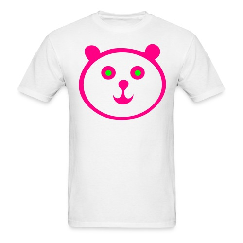 Mens Panda T-Shirt. - Men's T-Shirt