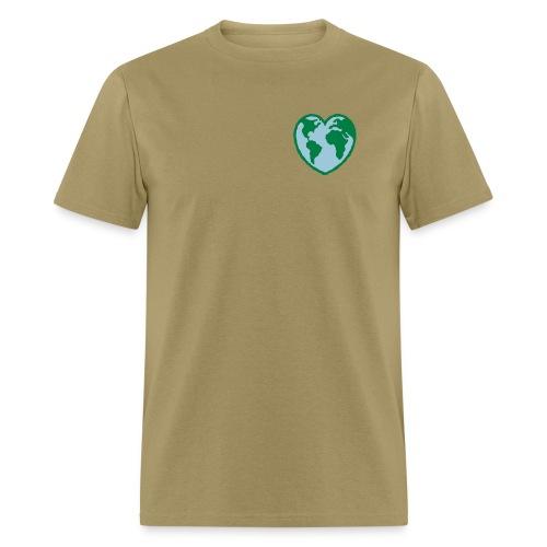 GREENIE HEART EARTH - Men's T-Shirt