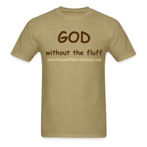 God Without the Fluff - Men's t-shirt - Men's T-Shirt