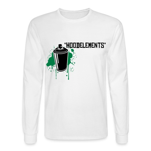 hoodelements tee - Men's Long Sleeve T-Shirt
