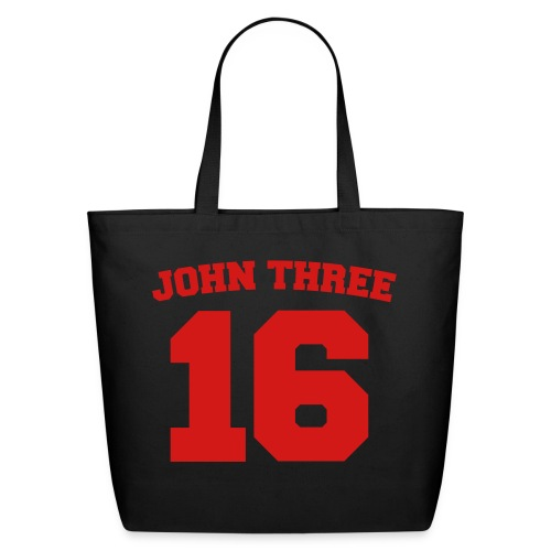 John 3:16 Tote Bag - Eco-Friendly Cotton Tote