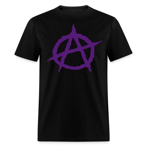ANARCHY T-PURPLE - Men's T-Shirt