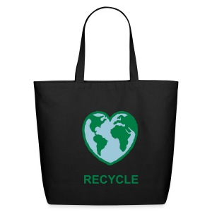 RECYCLE TOTE - Eco-Friendly Cotton Tote