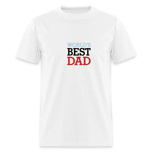 Worlds Best Dad - Men's T-Shirt