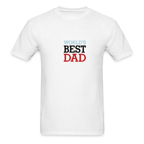 Worlds Best Dad - Men's T-Shirt