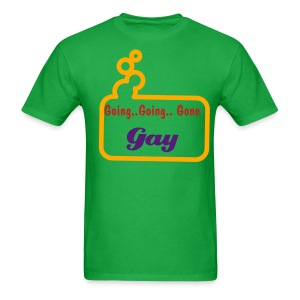 Going Gay Bubble Green - Men's T-Shirt
