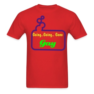 Going Gay Bubble Red - Men's T-Shirt