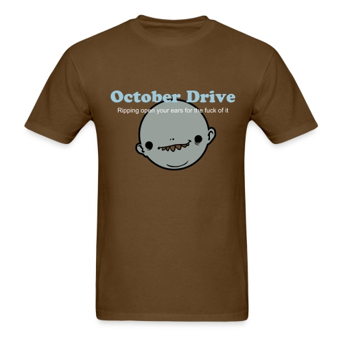 October Drive (artist tee): Ripping ears - Men's T-Shirt
