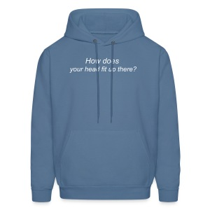 How does your head fit - Men's Hoodie