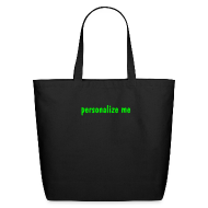 Bags & backpacks ~ Eco-Friendly Cotton Tote ~ Personalize for Free
