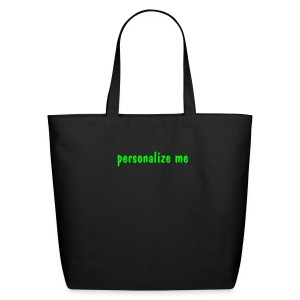 Personalize for Free  - Eco-Friendly Cotton Tote