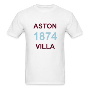 Aston Villa 1874 Tee - Men's T-Shirt