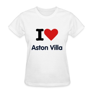 Aston Villa Love Tee (W) - Women's T-Shirt