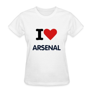 Arsenal Love Tee (W) - Women's T-Shirt