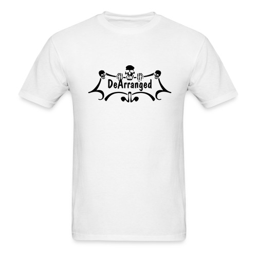 DeArranged Skull T - Men's T-Shirt