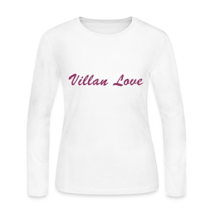 Villan Love LS Tee (W) - Women's Long Sleeve Jersey T-Shirt