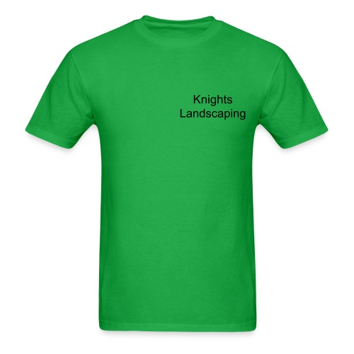 Knights Landscaping - Men's T-Shirt