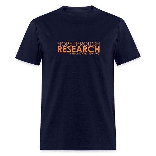 Hope Through Research T-Shirt - Men's T-Shirt