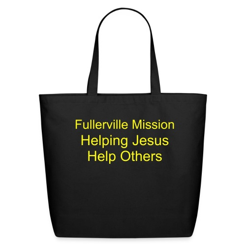 Fullerville Mission Bag - Eco-Friendly Cotton Tote