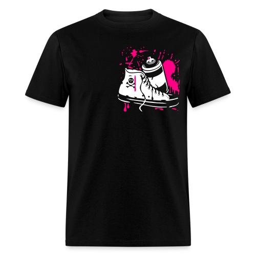 Shoe & Spray Tee - Men's T-Shirt