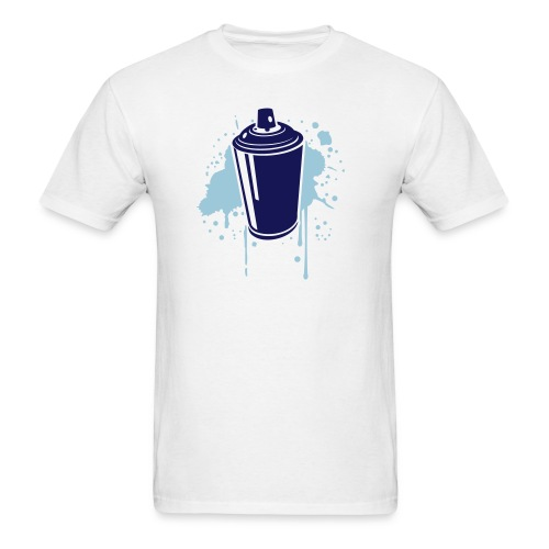 Blue Spray Tee - Men's T-Shirt
