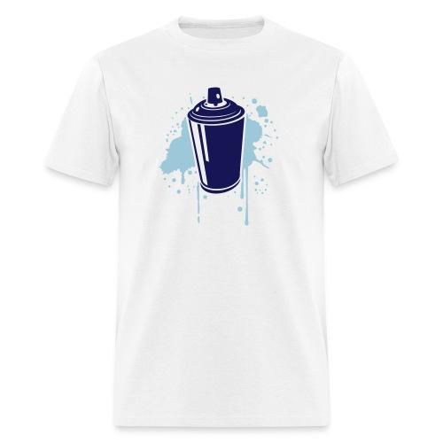 Blue Spray Tee - Men's T-Shirt