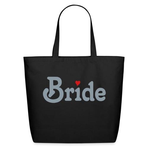 Bride Heart Tote - Eco-Friendly Cotton Tote