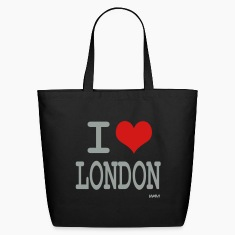 Black i love london by wam Bags