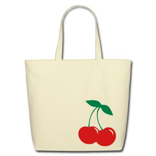 Cherry Eco-Friendly Tote Bag - Eco-Friendly Cotton Tote