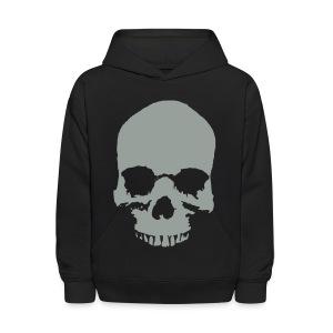 Kid's Skull Hooded Sweatshirt - Kids' Hoodie