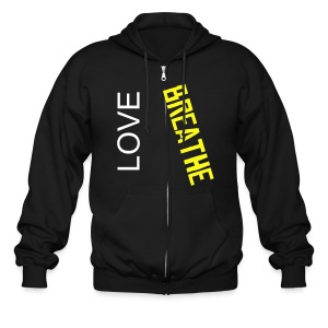 hooded love - Men's Zip Hoodie
