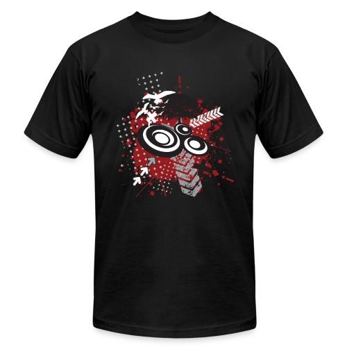 messy Graffitti Mens AA Tee - Men's  Jersey T-Shirt