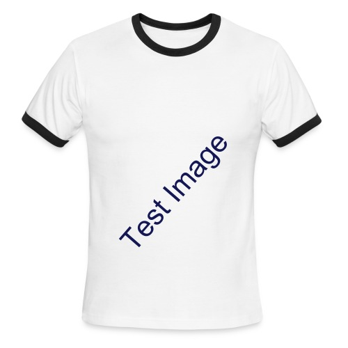 Test - Men's Ringer T-Shirt