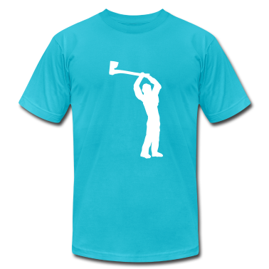 Turquoise logger T-Shirts