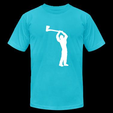 Turquoise logger T-Shirts