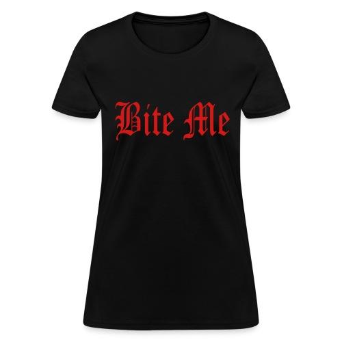 Bite Me Tee - Women's T-Shirt