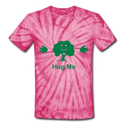 hug a tree - Unisex Tie Dye T-Shirt